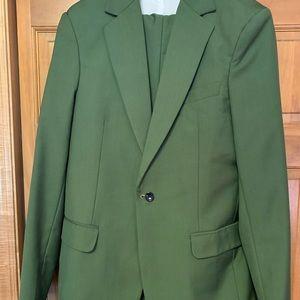 Other - 3-Piece Olive/Dark Green Suit (jacket+pants+vest)